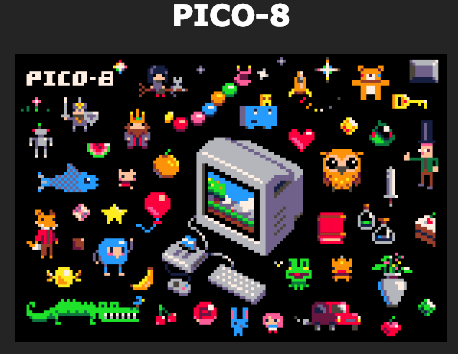 Pico-8 A Great Starter Game Engine